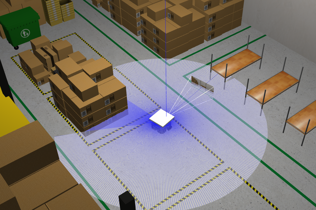 Single Robot Amazon Warehouse (ROS2)